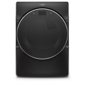7.4 cu. ft. Smart Front Load Gas Dryer - BLACK SHADOW