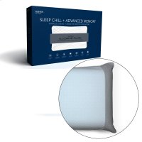 Sleep Chill + Advanced Cooling Memory Pillow with Conductive Graphite Foam Support, Standard / Queen Product Image