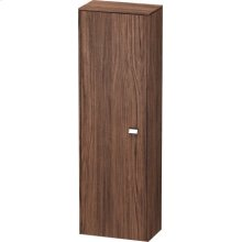 Semi-tall Cabinet, Walnut Dark Decor