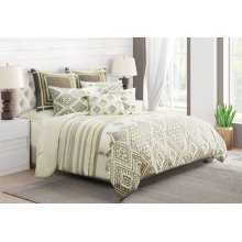 7pc Queen Duvet Set Dove