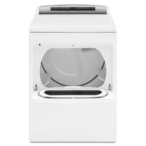 7.4 cu. ft. Top Load Electric Dryer with AccuDry Sensor Drying Technology