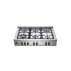 Bertazzoni36 Rangetop 6 Burners Stainless Steel