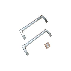 BERTAZZONIHandle Kit for 24 Bottom Mount refrigerator Stainless Steel