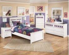 Zayley - White 6 Piece Bedroom Set