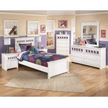Zayley - White 6 Piece Bedroom Set