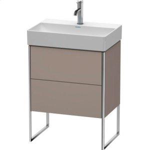 Vanity Unit Floorstanding Compact, Basalt Matt (decor)