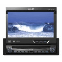 "7"" Fully Motorized In-Dash Monitor DVD/CD/WMA Receiver"