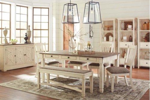 Aria - Antique White 6 Piece Dining Room Set