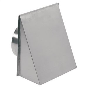"BroanWall Cap for 8"" Round Duct for Range Hoods and Bath Ventilation Fans"
