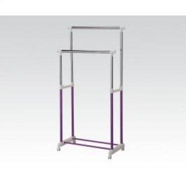 Purple Garment Rack