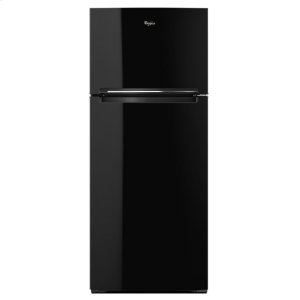 28-inch Wide Refrigerator Compatible With The EZ Connect Icemaker Kit - 18 Cu. Ft. - BLACK