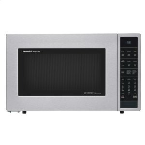 1.5 cu. ft. 900W Sharp Stainless Steel Carousel Convection + Microwave Oven -