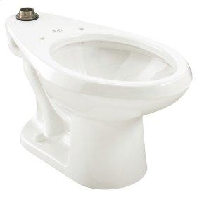 Madera Universal Flushometer Toilet - White