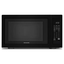 "21 3/4"" Countertop Microwave Oven - 1200 Watt Black"