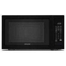 """21 3/4"""" Countertop Microwave Oven - 1200 Watt Black"""