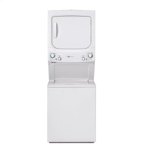 GEGE Unitized Spacemaker(R) ENERGY STAR(R) 3.9 cu. ft. Capacity Washer with Stainless Steel Basket and 5.9 cu. ft. Capacity Gas Dryer