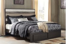 Micco - Multi 4 Piece Bed Set (King)