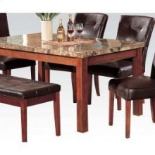 REC.DIN Table W/marble 38wx64l