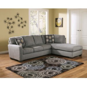 Ashley Furniture Zella - Charcoal 2 Piece Sectional