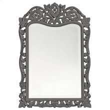 St. Agustine Mirror - Glossy Charcoal