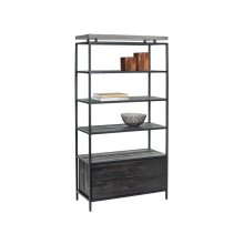 Norwood Bookcase - Black