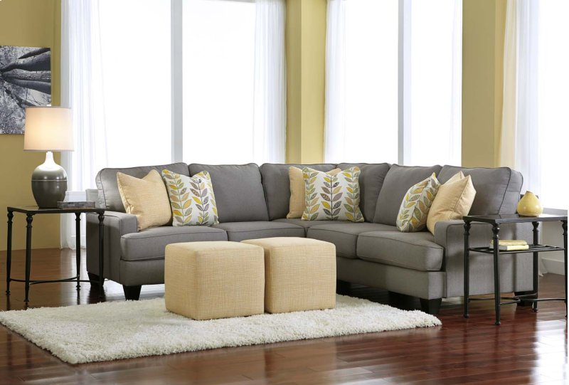 24302u7 In By Ashley Furniture In Tulsa Ok Chamberly Alloy 3 Piece Sectional