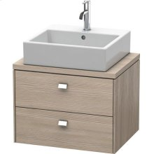 Brioso Vanity Unit For Console Compact, Pine Silver (decor)