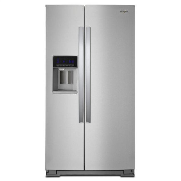Whirlpool 36-inch Wide Side-by-Side Refrigerator - 28 cu. ft.