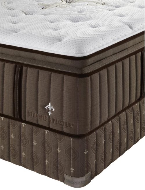 Lux Estate Collection - Pompano - Euro Pillow Top - Plush - Cal King