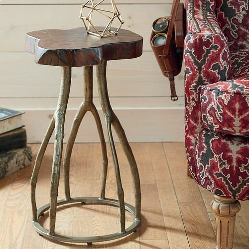 Hidden Treasures Live Edge Twig Table