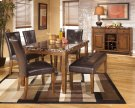Lacey - Medium Brown 6 Piece Dining Room Set Product Image