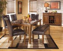 Lacey - Medium Brown 6 Piece Dining Room Set