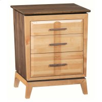 DUET 3-Drawer Addison Nightstand Product Image
