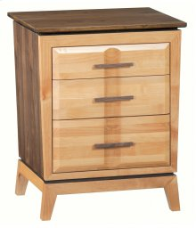 DUET 3-Drawer Addison Nightstand