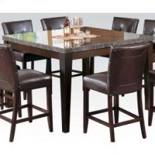 Bk Marble Top Counter H. Table