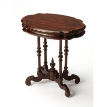 This charming Accent Table was inspired by a Parlor Table found in the Smithsonian's Castle Collection. The parlor was the showcase of the home and a place to receive guests, circa 1860. Combining the best of 19th century design and craft, it reflects an