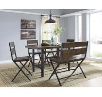 Kavara - Medium Brown 6 Piece Dining Room Set Product Image