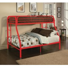 TRITAN RED T/F BUNK BED