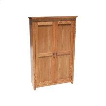 """Shaker Alder 24"""" Full Door Bookcase"""