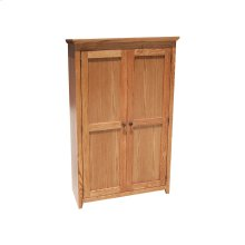 "Shaker Alder 24"" Full Door Bookcase"