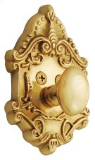 Nostalgic - Single Cylinder Deadbolt Keyed Differently - Victorian in Unlacquered Brass Product Image