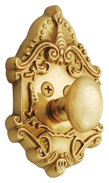 Nostalgic - Single Cylinder Deadbolt Keyed Differently - Victorian in Unlacquered Brass