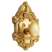 Nostalgic - Single Cylinder Deadbolt Keyed Differently - Victorian in Unlacquered Brass
