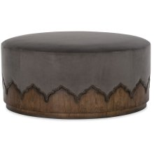 Living Room Melange Meyers Cocktail Ottoman