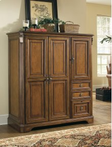 Home Office Brookhaven Computer Cabinet