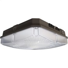 """60W LED 10"""" Outdoor Canopy Fixture"""