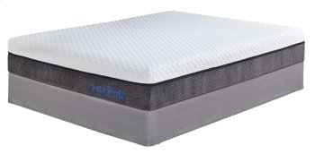 11 Inch Import Innerspring - White 2 Piece Mattress Set Product Image