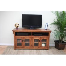 "O-M279 Mission Oak 56"" TV Console"