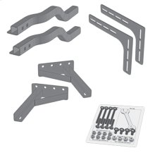 Headboard Bracket Kit for Folding Adjustable Base Models, Queen / King