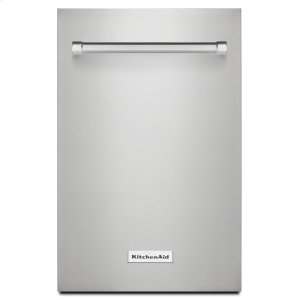 KitchenaidMatch the look of your dishwasher to your kitchen. Stainless Steel